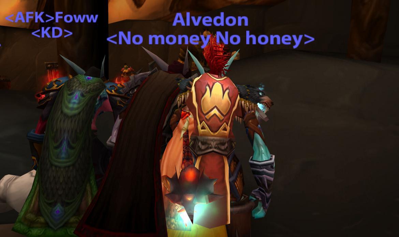 Alvedon <No money No honey>