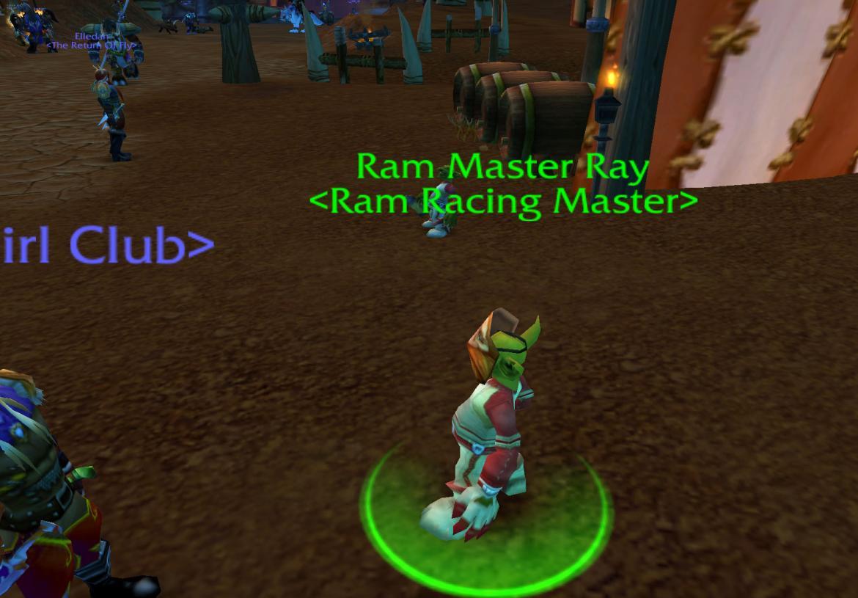 Ram Master Ray <Ram Racing Master>
