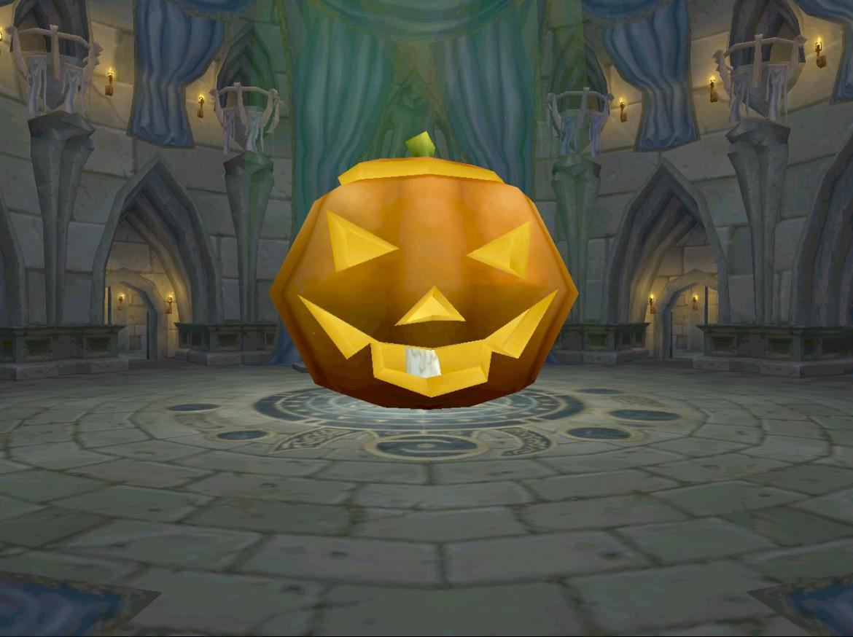 Giant Halloween Pumpkin
