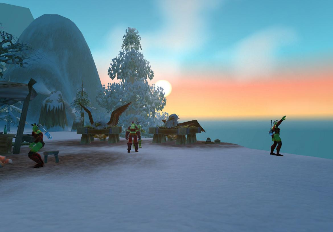 Ironforge Airfield Flight Path Gryphons