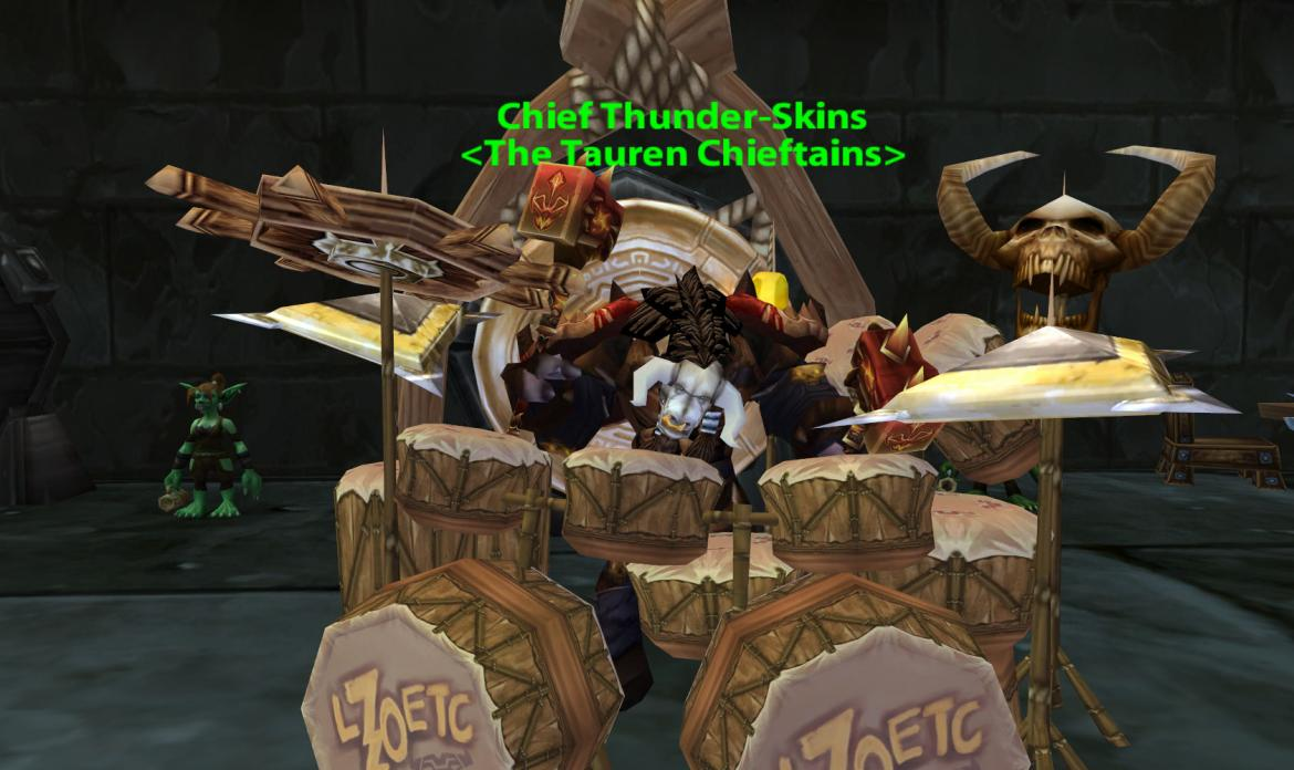 Chief Thunder-Skins <The Tauren Chieftains>