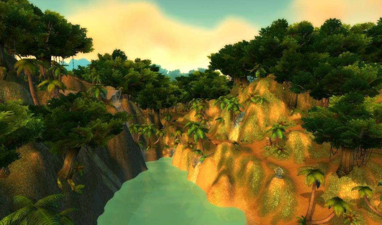 Waterfalls at The Southern Savage Coast