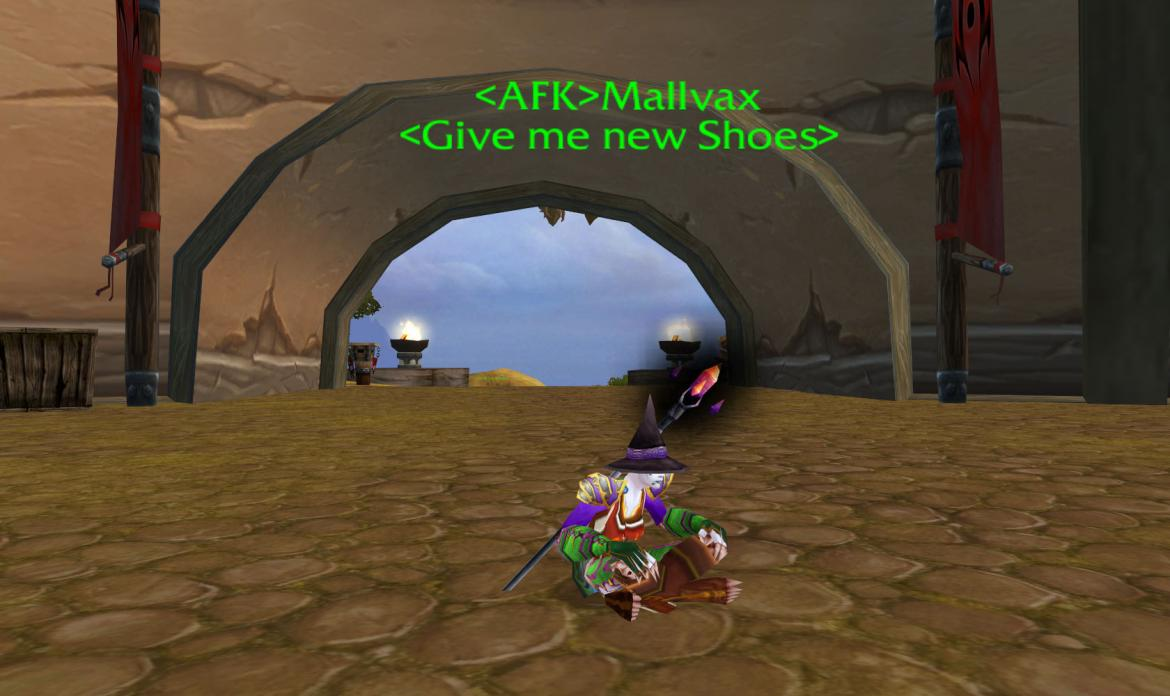 <AFK> Mallvax <Give me new Shoes>