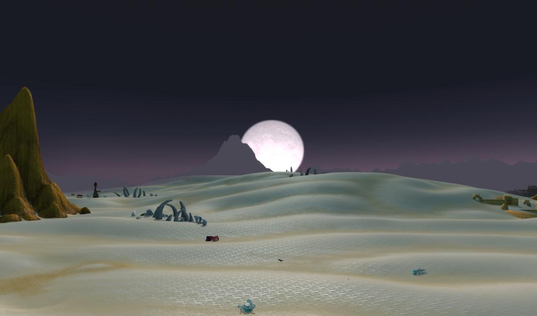 Moon in Tanaris