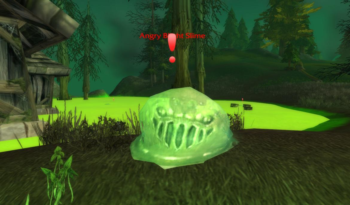 Agry Blight Slime in The Ruins of Southshore