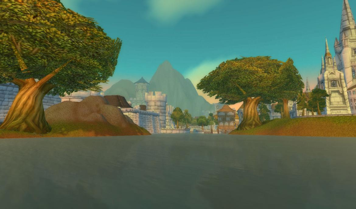 Stormwind City Lake