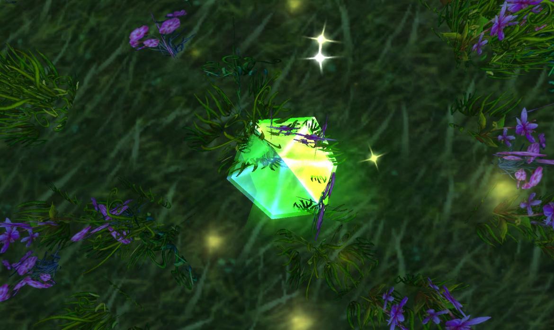 Emerald Dragon Tear