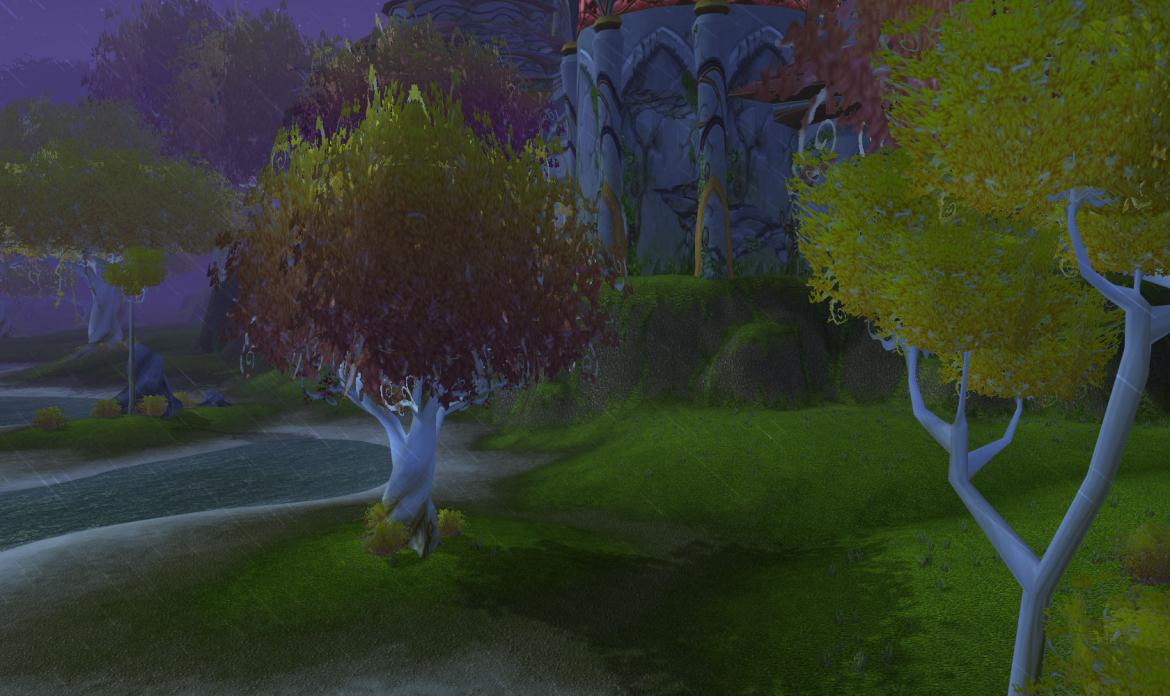 Rain at the shores of Quel'Danas