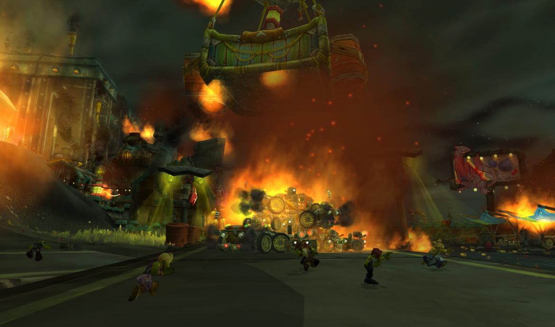 Kezan on fire