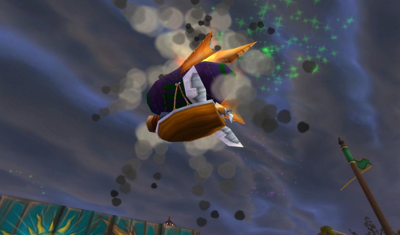 Shooting the Darkmoon Zeppelin