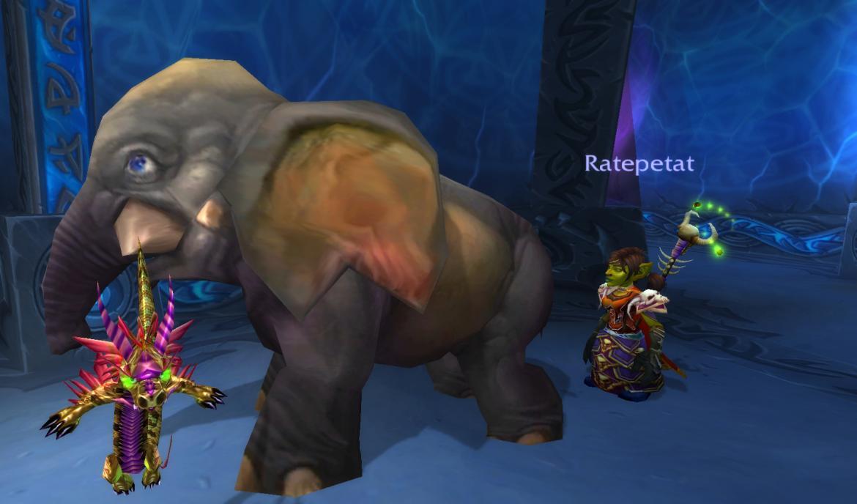 Orphaned Mammoth Calf