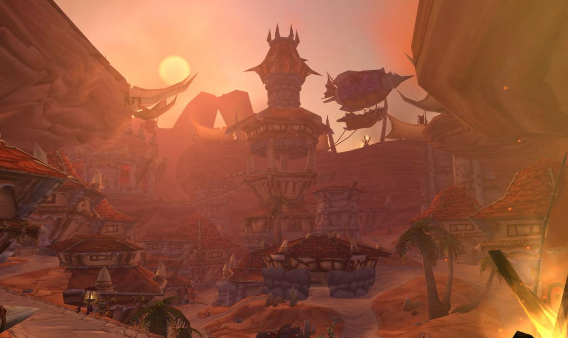 The Sky Tower in Orgrimmar