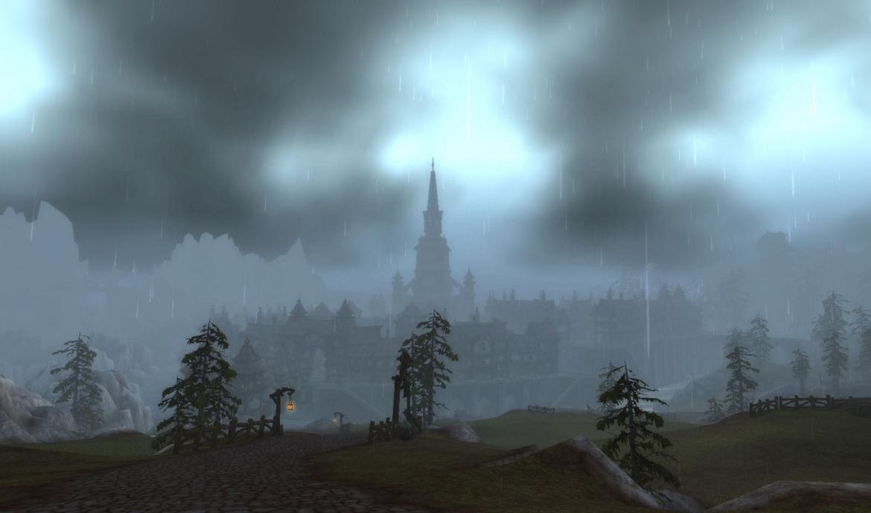 Gilneas in the rain