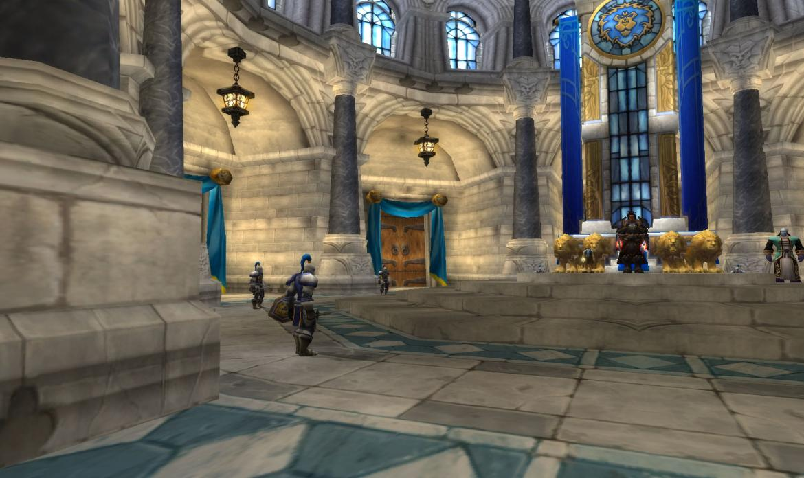 Stormwind Throne