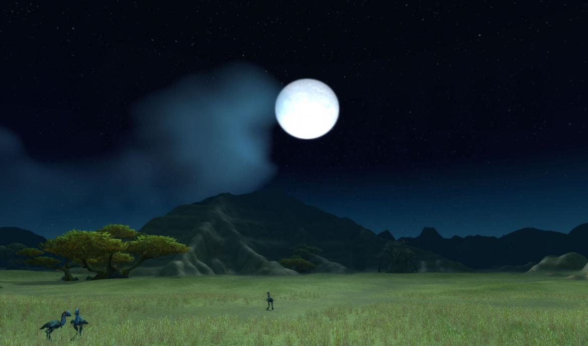 The Moon over The Barrens