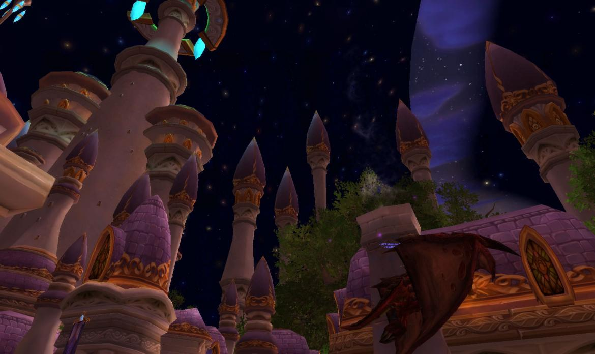 Stars in the Dalaran sky