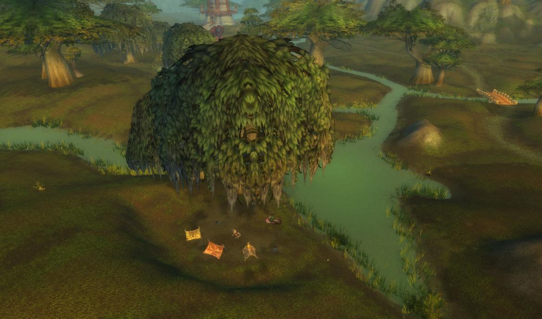 Wetlands tree
