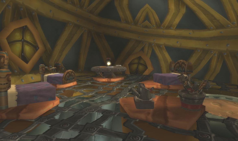 Goblin bedroom