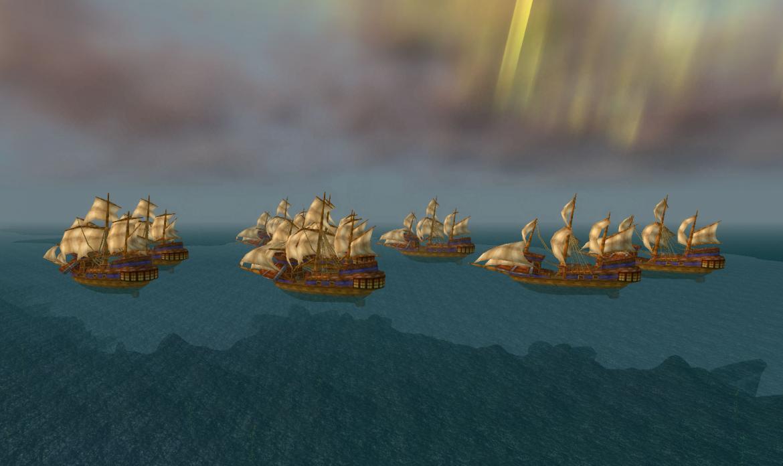 Alliance ships