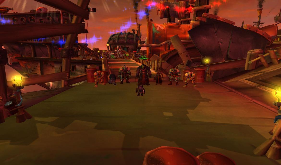 Thrall at the Goblin boat