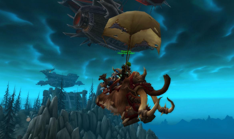Traveler's Tundra Mammoth on a Parachute