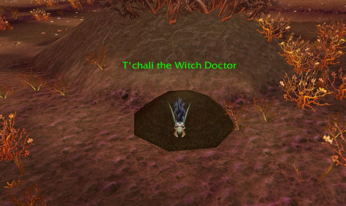 T'chali the Witch Doctor
