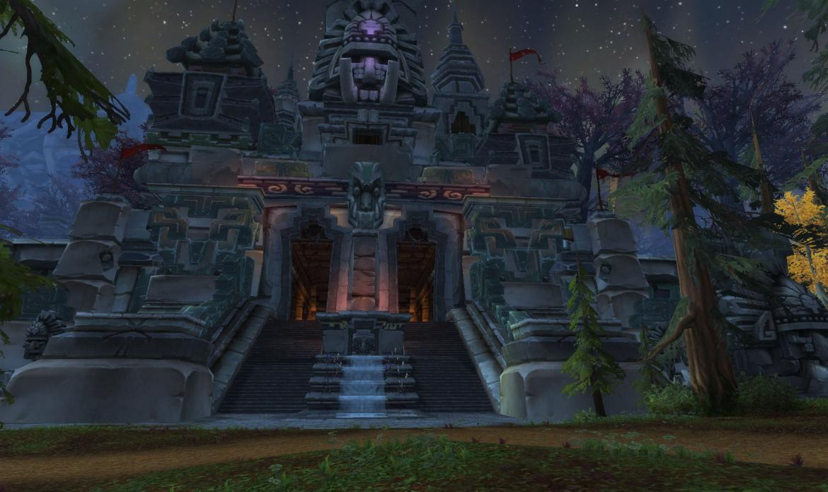 Drak'Tharon Keep entrance