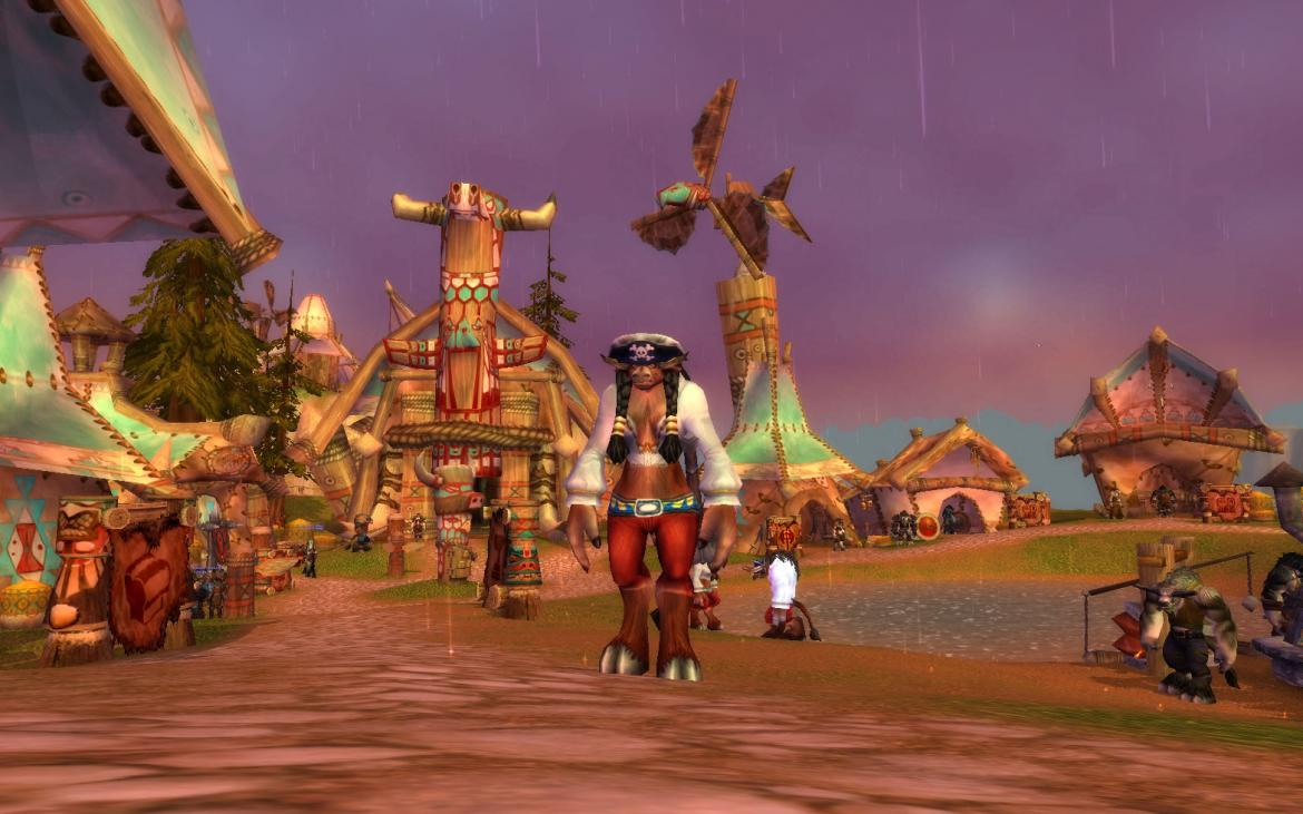 Pirate Tauren