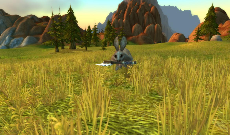 Axe Wielding Rabbit