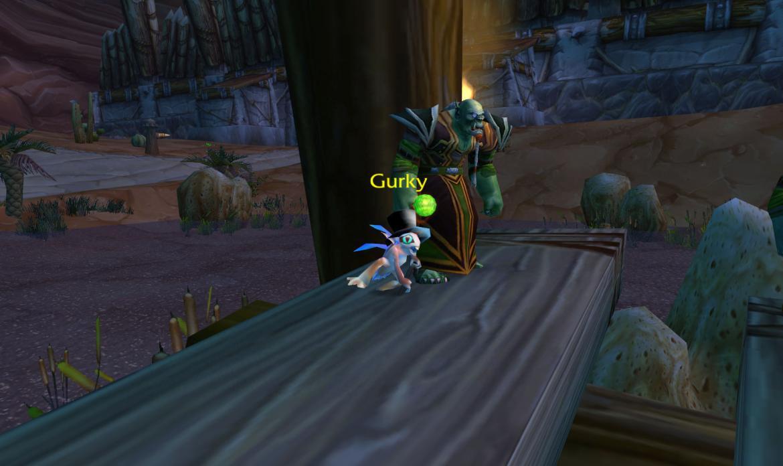 Gurky dancing