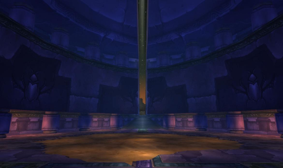 Looking at the stars from C'Thun dome