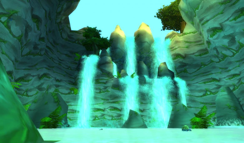 Mauradon waterfalls