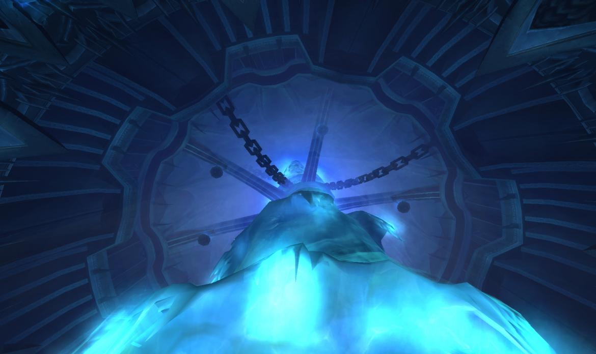 Icecrown Citadel central spire
