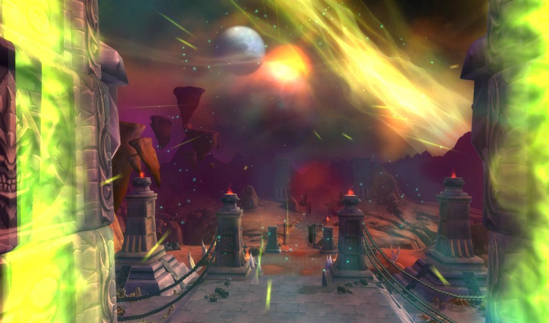 The Dark Portal in Hellfire Peninsula