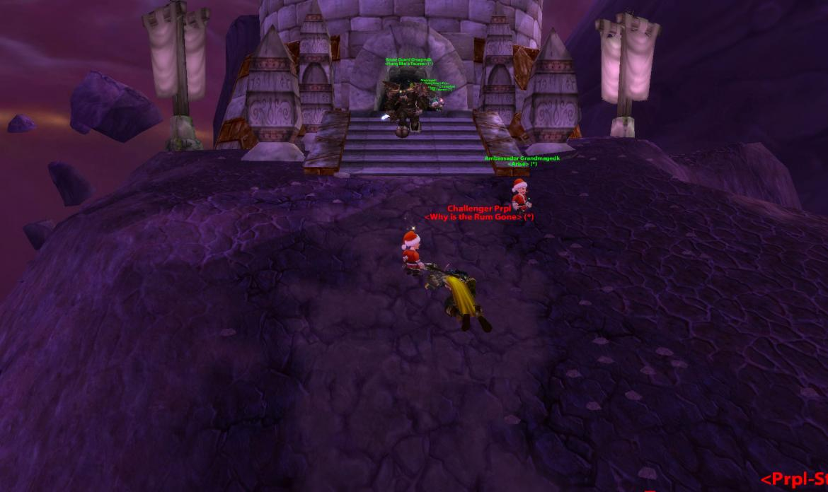 Challenger Prpl <Why is the Rum Gone> dead at the Mage Tower