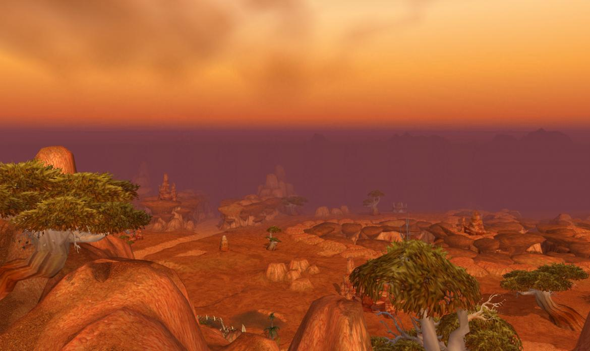 Looking out over Durotar